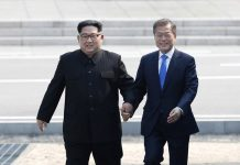 Korean Summit Starts with a Handshake, After Year of Tension