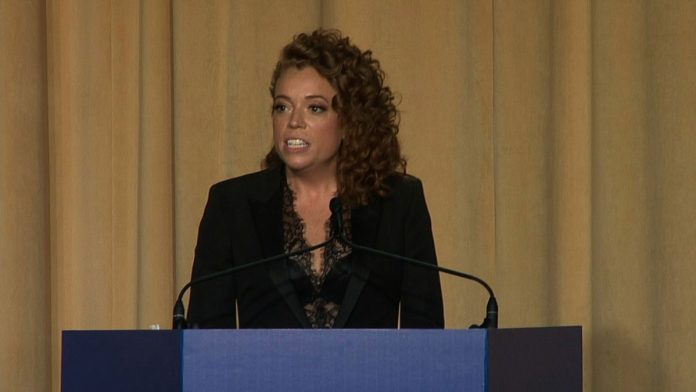 Michelle Wolf draws laughs, gasps at correspondents' dinner