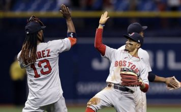 Betts Powers Red Sox Past Rays 4-2