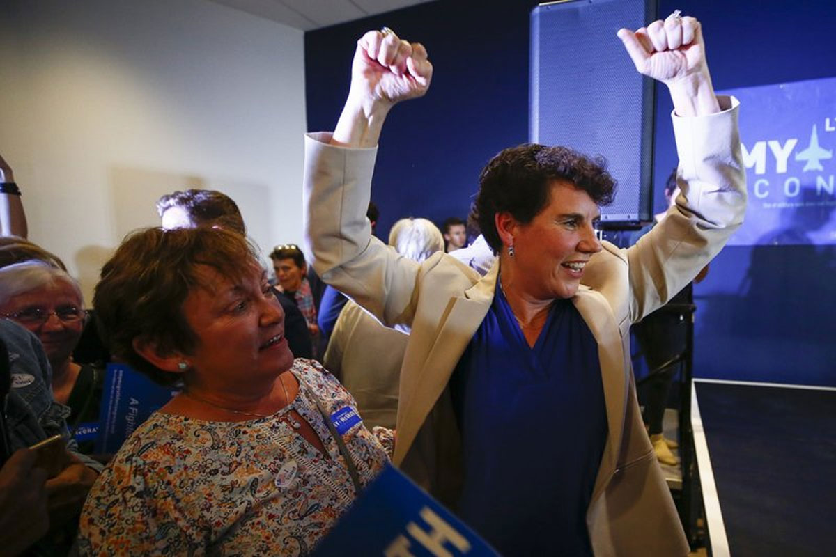 History in Georgia as 4 States Vote Ahead of Midterms