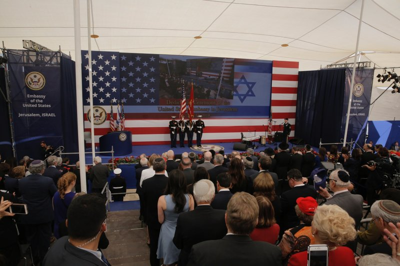Israel's Festive Inauguration of the New U.S. Embassy in Jerusalem