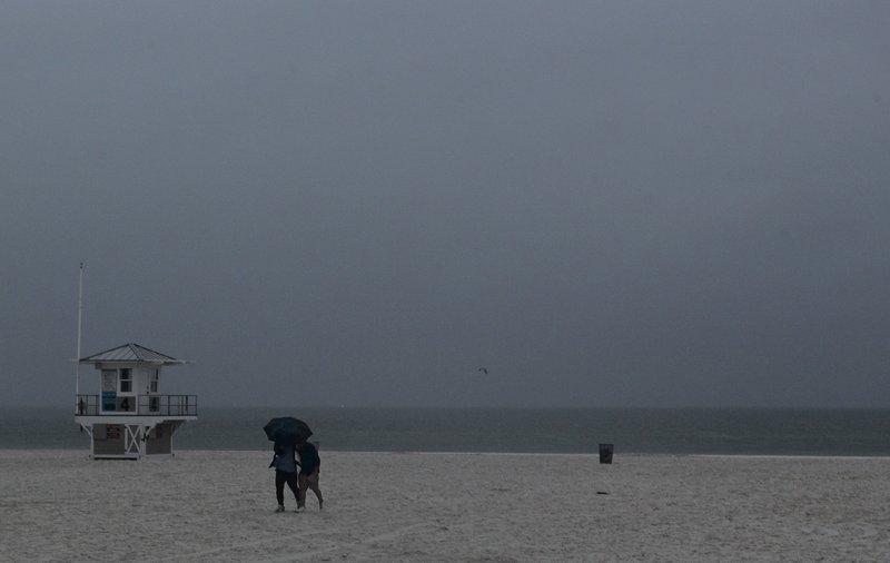 First Named Tropical System Alberto Chugs Toward Gulf