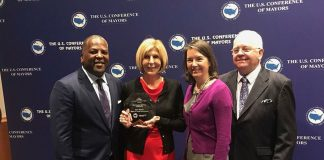 Mayor Jeri Muoio Awarded National Honor for Climate Protection Efforts