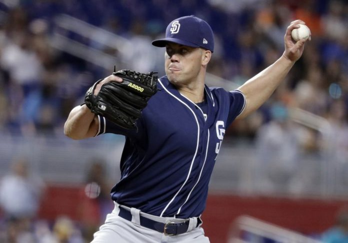Richard Takes No-Hit Try into 7th, Padres Beat Marlins 3-1