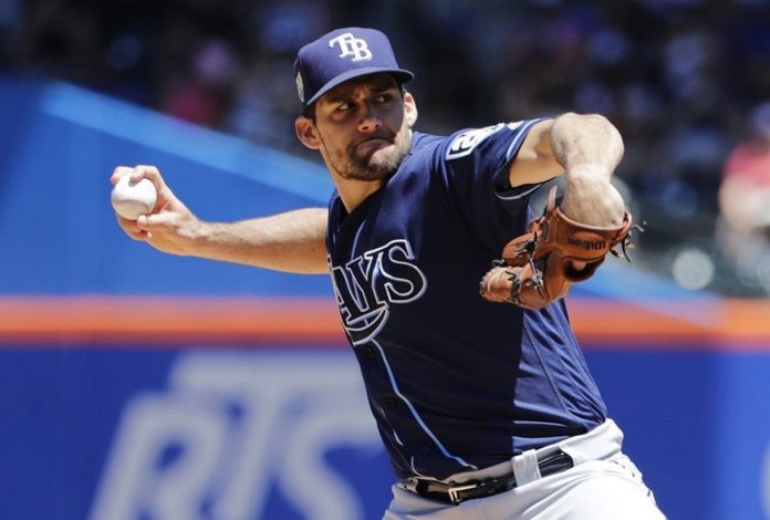 Eovaldi Flirts with Perfection as Rays Rout Mets 9-0