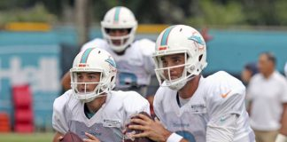 Dolphins' No. 2 Quarterback Still Unclear