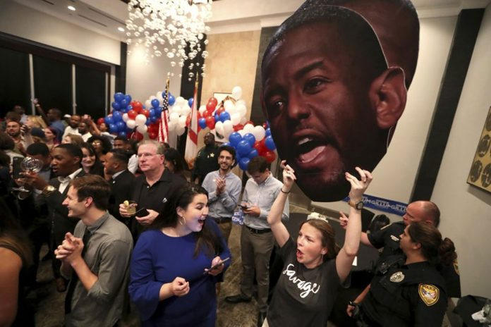 Gillum Upsets Democratic Field in Florida Governor's Race