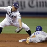 Snell, Rays Tie Team Record Shutout Streak; Beat Royals 4-1