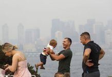 West of U.S. Struggles with Smoke