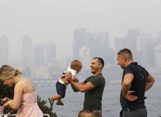 West of U.S. Struggles with Smoke