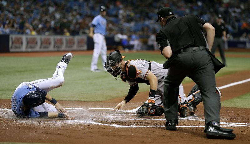 Rays Win 11th Straight Home Game, Beat Orioles 8-3