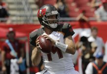 Fitzpatrick Shines Again, Buccaneers Stun Eagles 27-21