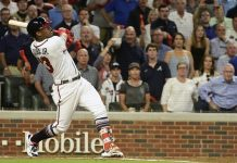 Acuna Becomes Youngest to Hit Postseason Slam