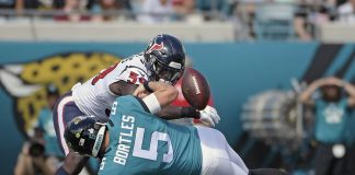 Bortles Benched, Jaguars Implode after 20-7 Loss to Texans