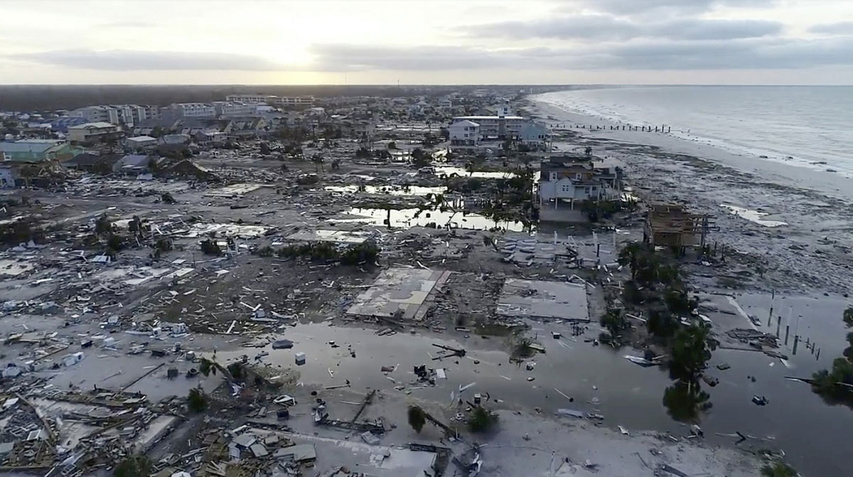 Florida Panhandle Devastated by Hurricane Michael