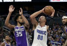 Hield, Kings Top Magic 107-99 for Fourth Straight Win