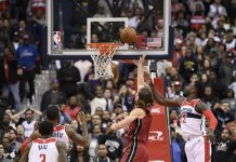 Olynyk's Putback off Wade's Miss Lifts Heat Past Wiz 113-112