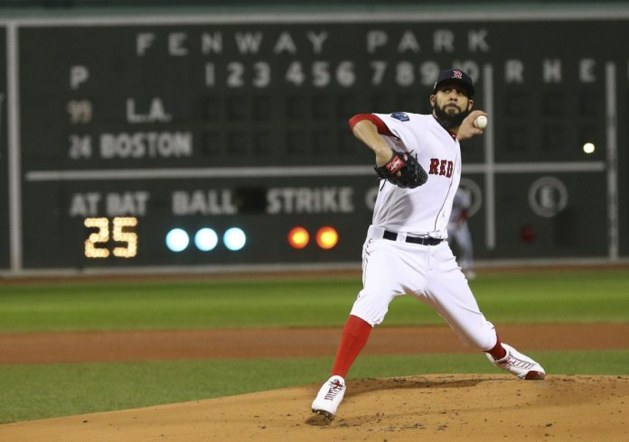 Price Pitches Red Sox Past Dodgers 4-2 for 2-0 Series Lead