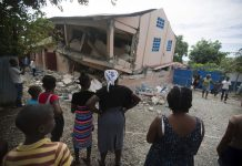 Strong Aftershock Rattles North Haiti Day after Deadly Quake