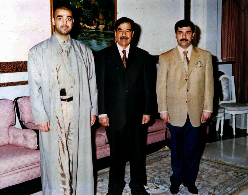 Uday and QusayHussein
