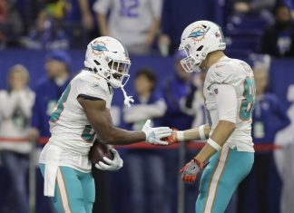 Dolphins' Miscues Prove Costly in Crucial 27-24 Loss at Indy
