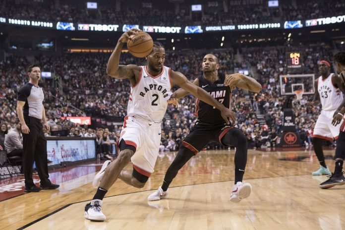 Leonard Has 29, Raptors Win 5th Straight, Top Heat 125-115
