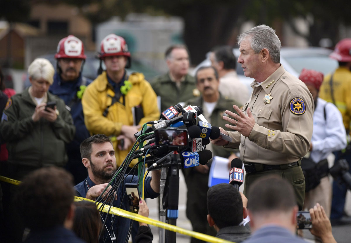 Marine Combat Veteran Kills 12 in California Bar Shooting