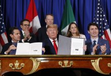 Tariff Tensions Shadow US, Canada, Mexico Trade Pact Signing