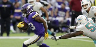 Dalvin Cook Carried Vikings Past Dolphins in 41-17 Rout