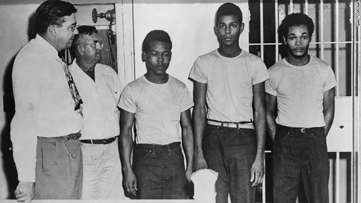 Groveland 4 Earnest Thomas, Charles Greenlee, Samuel Shepherd and Walter Irvin