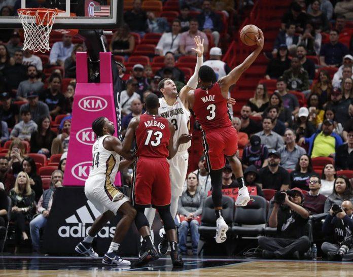 Heat Go up 31, then Scramble to Top Pelicans 106-101