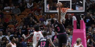 Rockets Lose Paul, Heat Manage to Win 101-99