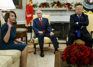 Trump Bickers with Dem Leaders, Threatens Gov't Shutdown