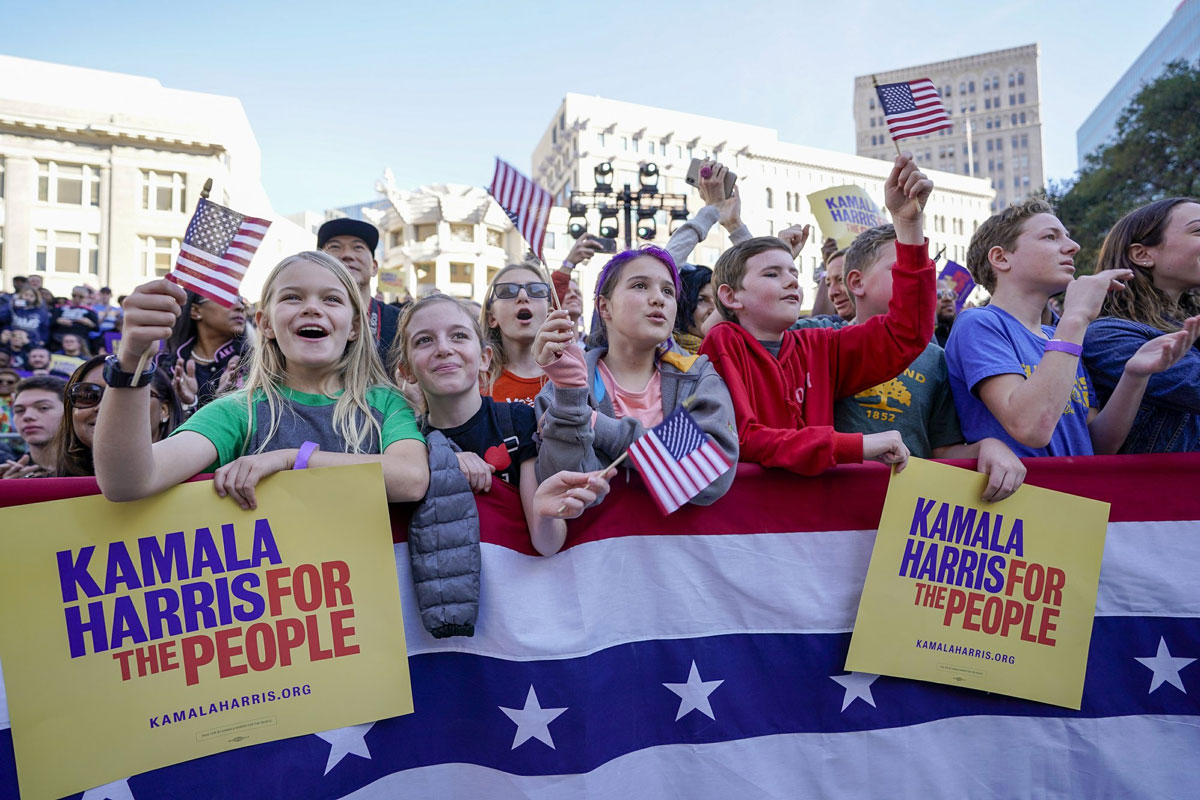 Democratic Sen. Kamala Harris Kicked off Presidential Campaign