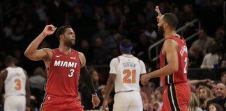 Ellington Scores 19 as Heat Beat Knicks 106-97