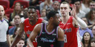 Heat get back over .500, top Wizards 115-109