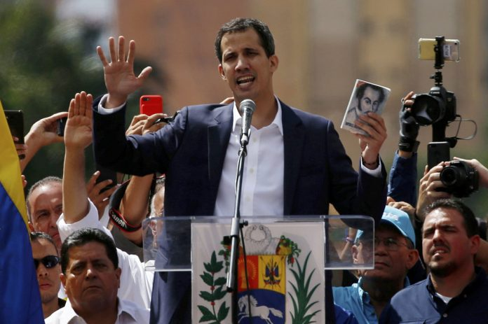 Juan Guaido Declared himself Venezuela's Interim President
