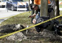 Mystery Tunnel Found Pointing toward Florida Bank Branch