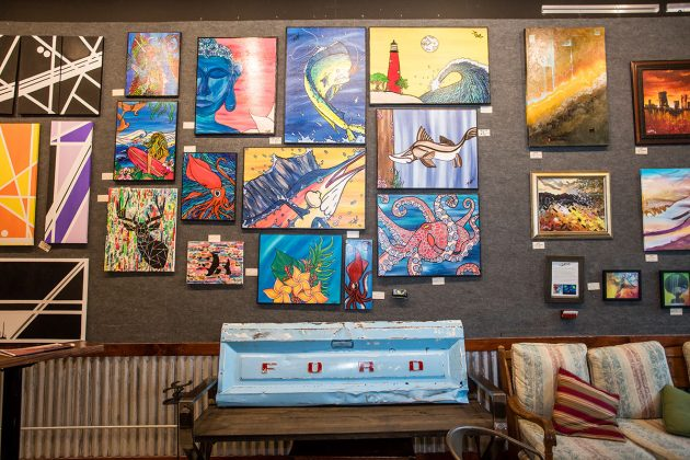 Lake Park's The Brewhouse Gallery Has Art and Performance on Tap