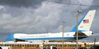 Air Force One in Palm Beach: February 2, 2019