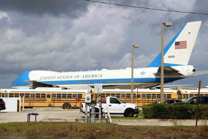 Air Force One in Palm Beach: February 2, 2019