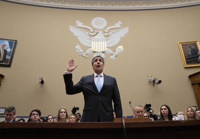Cohen Cast Trump as Racist and Con Manbefore Congress
