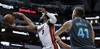 Wade Helps Heat Top Mavs 112-101 in Likely Final Dallas Game