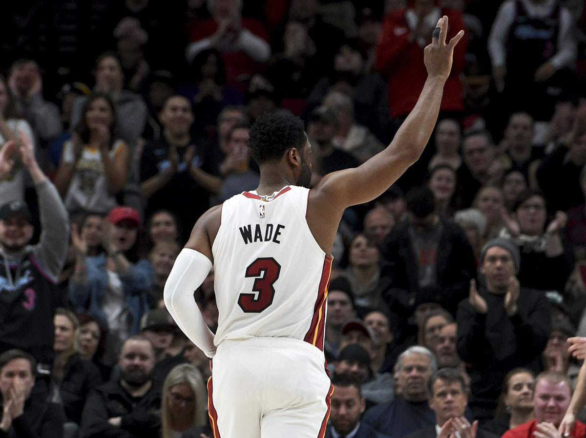 Whiteside has 28 and the Heat hold off the Blazers 118-108