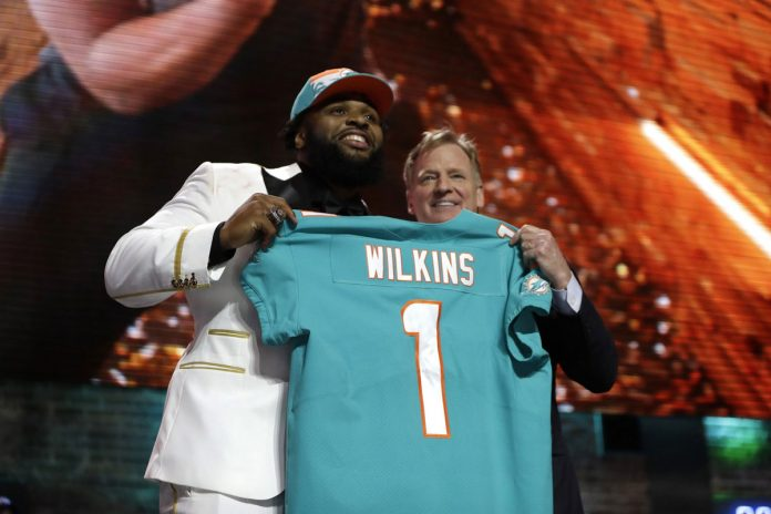 Dolphins Draft Clemson DT Christian Wilkins in 1st Round