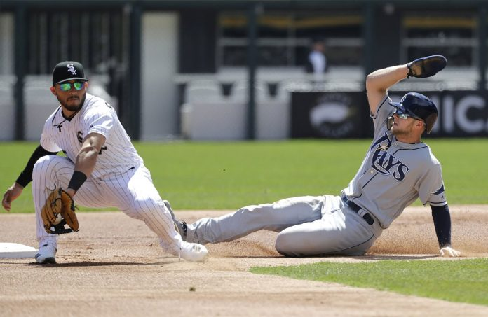Meadows Gets 4 Hits, Rays Bbeat White Sox 10-5