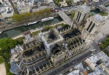 Notre Dame Cathedral Aftermath