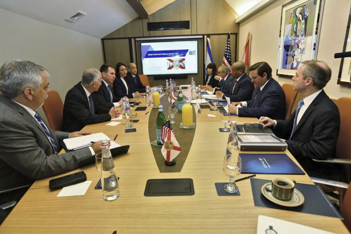 Florida Cabinet Meets in Israel Under Media Objection