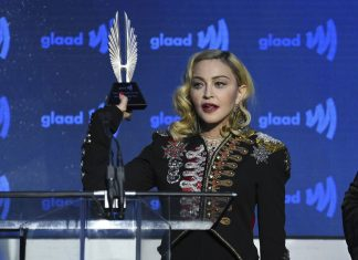 Madonna Gives Emotional Speech at GLAAD Awards