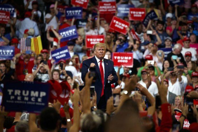 Trump Kicked off his Reelection Campaign in Orlando